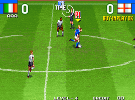 Super Sidekicks 2 - The World Championship, Tokuten Ou 2 - real fight football