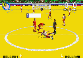 Super Visual Football, European Sega Cup