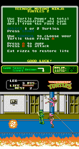 Teenage Mutant Ninja Turtles 2, The Arcade Game