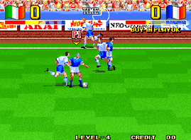 Ultimate 11 - The SNK Football Championship, Tokuten Ou - Honoo no Libero, The