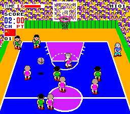 Fighting Basketball