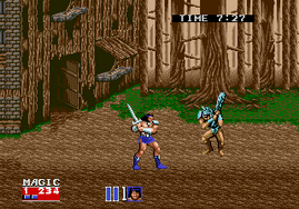 Golden Axe 2, Mega Play