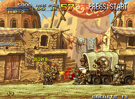 Metal Slug 2 - Super Vehicle-001 2