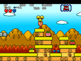 B.C. Kid , Bonk's Adventure , Kyukyoku.. PC Genjin