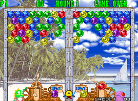Puzzle Bobble 2, Bust-A-Move Again