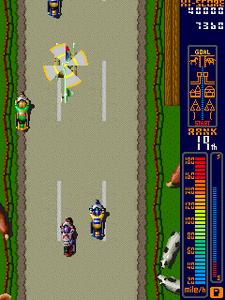 Игровые автоматы MAME, игры на букву r: Rally Bike, Dash Yarou