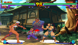 Street Fighter 3, New Generation