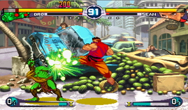 Street Fighter 3 2nd Impact, Giant Attack